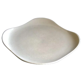 Russel Wright American Modern Square Platter in Grey Color