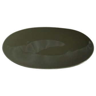 Russel Wright American Modern Serving Plate in Cedar Green.