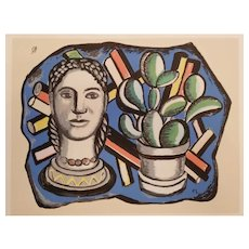 Colorful Fernand Léger Serigraph 1950's