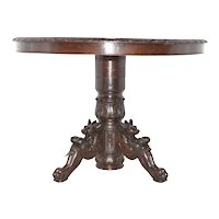 Nice Decorative Antique French Hunt Console Table, Wall Table, 19th Century