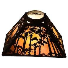 Handel Sunset Palm Overlay Lamp Shade