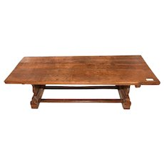 Rustic & Primitive Coffee Table, 19th Century, Oak