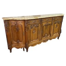 Server, Buffet, Sideboard-Antique, Great Quality in Oak, 1920's, Large