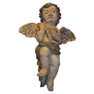 "Beautiful Elegant Wall Cherub from the Philippine's 19"" Tall"