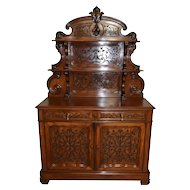 Stunning French Server Beautiful Mahogany Model Wonderful Carved Design