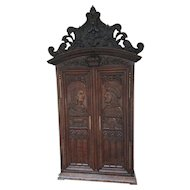 Antique French Royalty Cabinet SPECIAL Renaissance Model Purchased From a Chateau