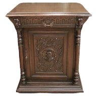 Antique French Renaissance Cabinet, Circa 1910