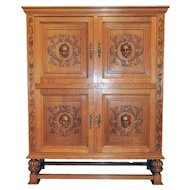 Elegant Vintage Cabinet, Bar or Storage Cabinet, 1930's, Value