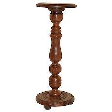 Handsome French Walnut Pedestal, 1930's
