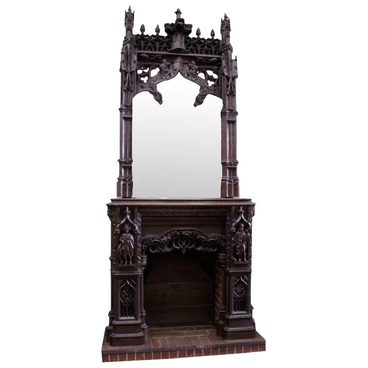 Gothic mantel shop