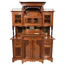 Beautifully Crafted Art Nouveau Cabinet from Amsterdam, 1920s