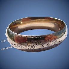 Antique Victorian 10 kt. Gold Bracelet         C.  1890