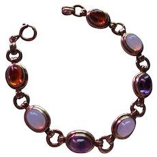 Beautiful Vintage 14 kt. Gold Moonstone Bracelet