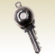 Stanhope Souvenir Key Charm with View of Salt Lake City Temple Square Mormon Church Latter Day Saints Collectible