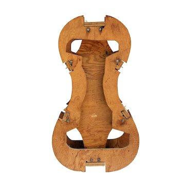Vintage Violin Maker Cello Mold Jig Form Musical Instrument Tool