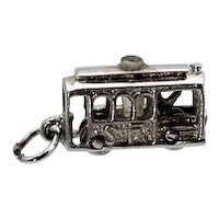 San Francisco Moving Cable Car Stanhope Charm
