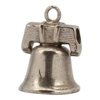 Vintage Sterling Silver U.S. Liberty Bell Stanhope Charm