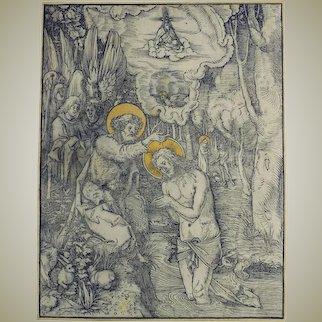 1508 Master Engraving by Hans Wechtlin I (German, 1480-1485 - 1526)