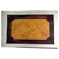 Landureau, P. - Le Petit journal des peintres [ Interior Design & Marbling ] - 1870