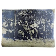 German Post War Poverty ca 1919 very large 39.5cm Press Photograph