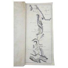 Switzerland - Road Atlas between Berne & Geneva - Folio - 1783