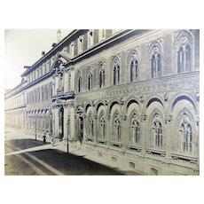 Pozzi, Pompeo (1817/ 1888) - Large salt photograph - Hospital at Milan - 1850s