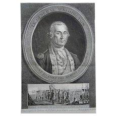 [Joh. Heinrich Lips, 1758-1817]; Peale Folio - General WASHINGTON - 1783