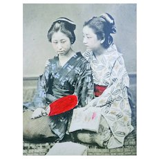 Japan - Photograph Album - Geishas - 1890