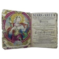 Theatre - The Life of St. Margaret - 1765
