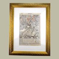 Gruninger Master - Aeneid: Alecto, Latina, Amata - 1502