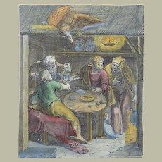 Otto van Veen (1556 - 1629) - The Rewards of Agriculture - Emblemica - 1612