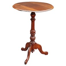 Early English Mahogany Side or Wine Table