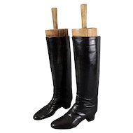 Equestrian Riding Boots with Trees, Pair