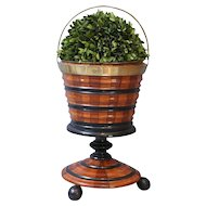 English Urn on Pedestal Wine Cooler / Jardiniere