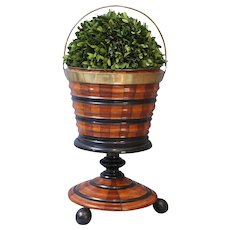 English Urn on Pedestal Wine Cooler / Jardiniere