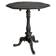 19th-Century Swedish Rococo Tilt Top Table
