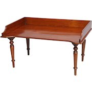 Antique English Mahogany Breakfast & Writing Tray