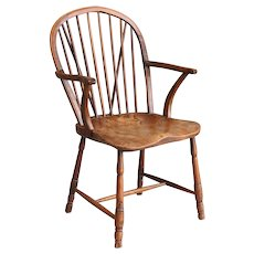 Antique English Windsor Youth Chair