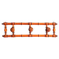 French Faux Bamboo Hanging Rack, Folding