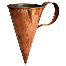 Antique English Copper Ale & Wine Warmer