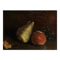 Antique Still Life Oil Painting, Francois Bonvin (1817-1887)