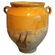 Antique French Confit Pot, Provence