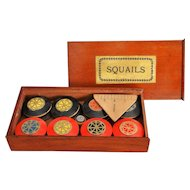 19th-Century English Squails Game, Rare