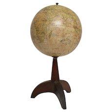 Italian World Globe on Stand