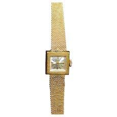 Vintage GRUEN ladies watch gold plated 10K