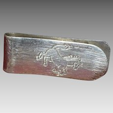 Vintage sterling silver money clip
