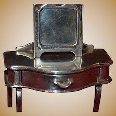 Vintage sterling silver decorative dressing table