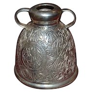 Vintage sterling silver decorative Egyptian jug