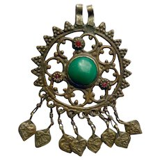 Vintage Kuchi Pendant from Afghanistan
