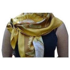 Salvatore Ferragamo authentic silk scarf